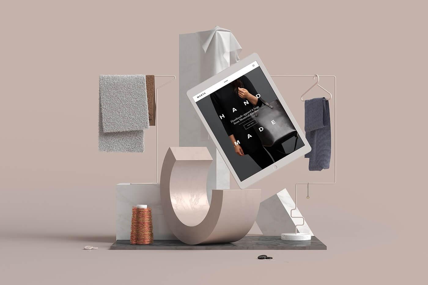 современный дизайн, тенденции